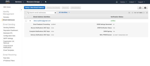 Amazon SES電子郵件驗證-Mailtrap博客上的Amazon SES指南